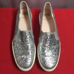 Kate Spade Bew York Keds Sparkle Flats 9 Sneakers
